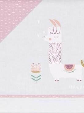 Juego de sábanas Llama lila [1]