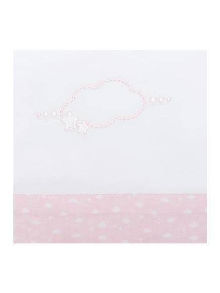 Sabanas de cuna blanca y rosa Mayoral 19577 [2]
