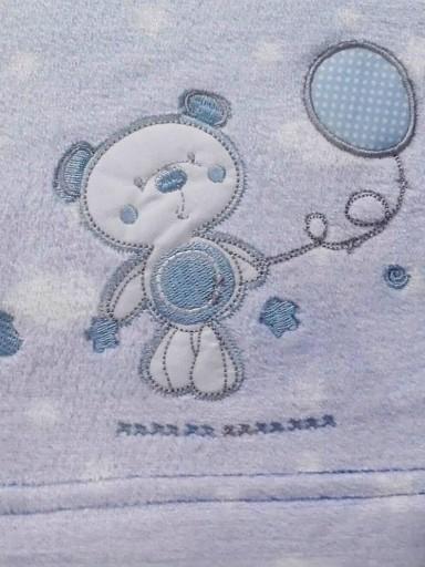 Sabanas microlina invierno Bear globo azul [1]