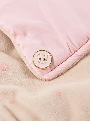 Saco invierno microfibra rosa [2]