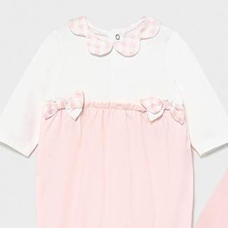 Set dos pijamas bebé niña entretiempo [1]