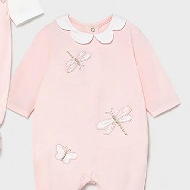 Set dos pijamas bebé niña entretiempo [2]