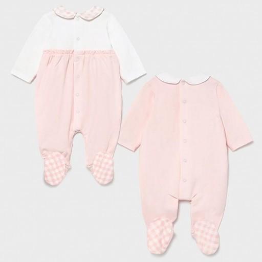 Set dos pijamas bebé niña entretiempo [3]