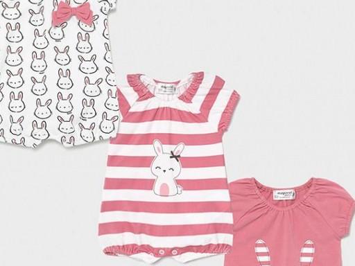 Set pijamas cortos bebé niña [2]
