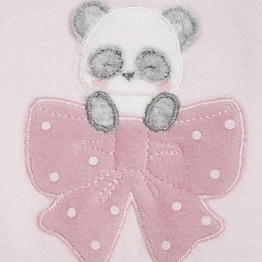 Set pijamas tundosados lacito bebé niña [2]
