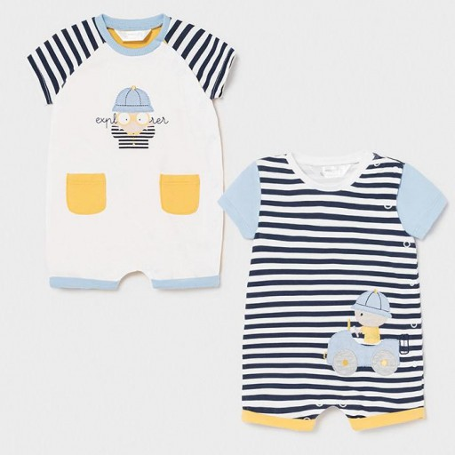 Set 2 pijamas recién nacido