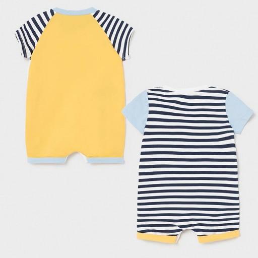 Set 2 pijamas recién nacido [1]