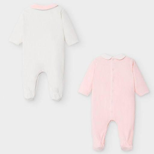 Set pijamas tundosados lacito bebé niña [1]
