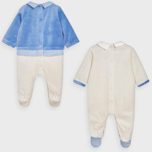Set pijamas bebé niño trenecitos [1]