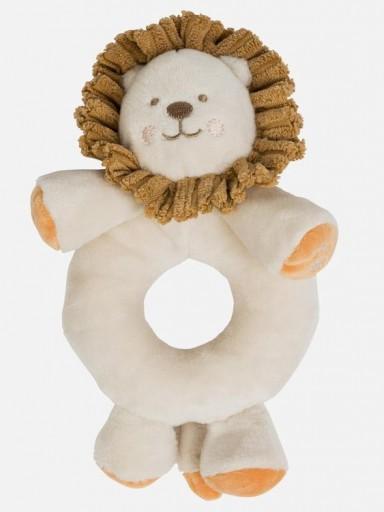 Sonajero bebé león beig   [0]