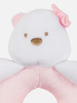 Sonajero bebé osito rosa  [2]