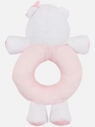 Sonajero bebé osito rosa  [1]