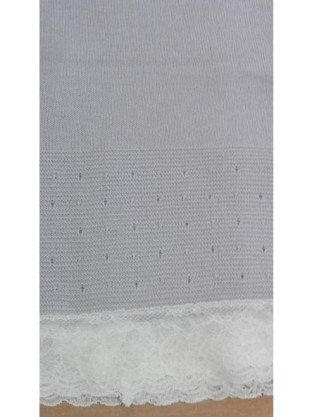 Toquilla invierno puntilla valencie gris perla [1]