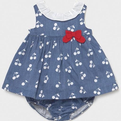 Vestido bebe niña cerezas [1]