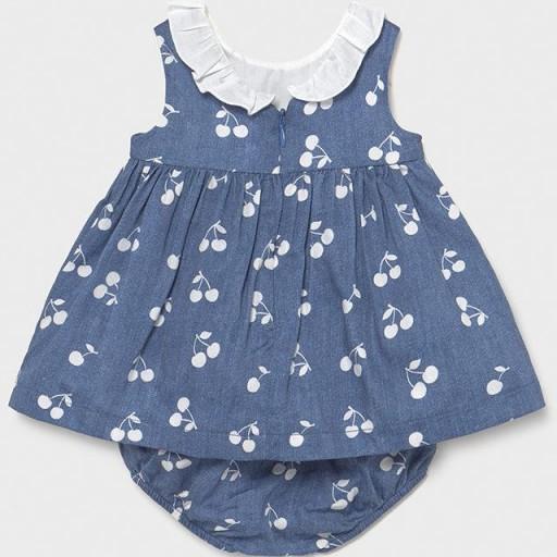 Vestido bebe niña cerezas [2]