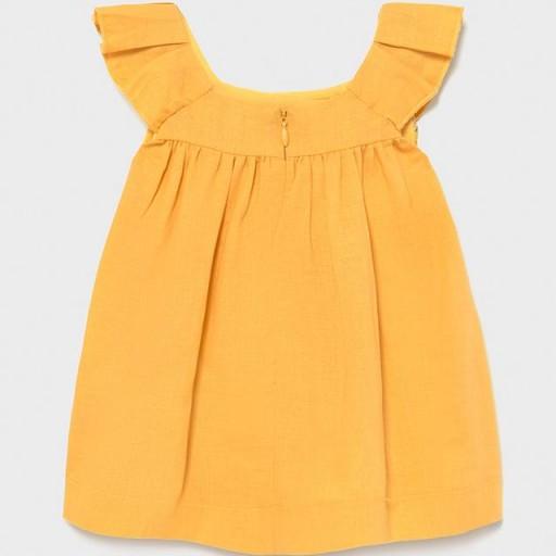Vestido mini niña flecos [1]