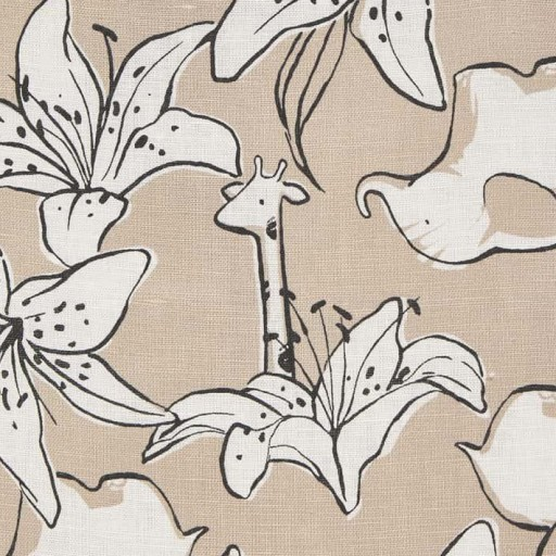 Vestido niña lino floral [3]