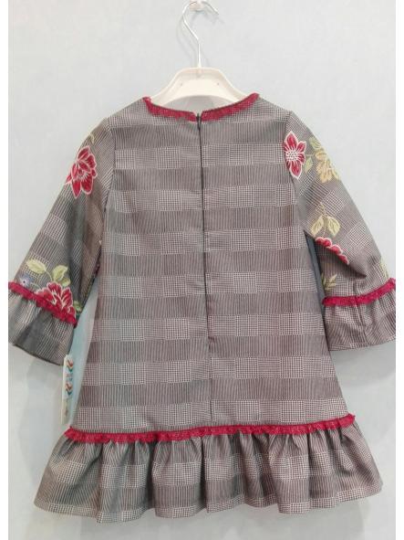 Vestido niña Anavig lazo rojo 74001 [1]