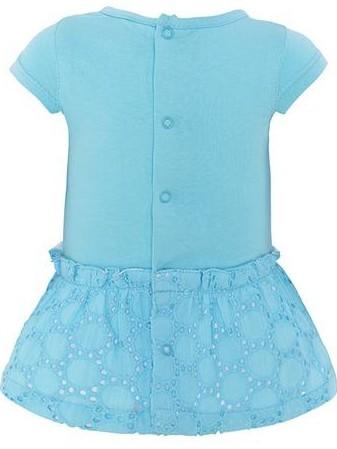 Vestido bebé niña punto y popelín Tuc Tuc Smoothies  [1]