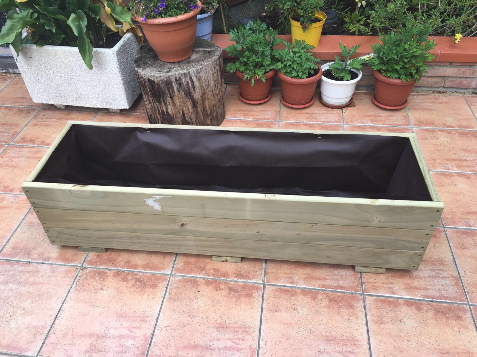 Jardinera 120x35x30
