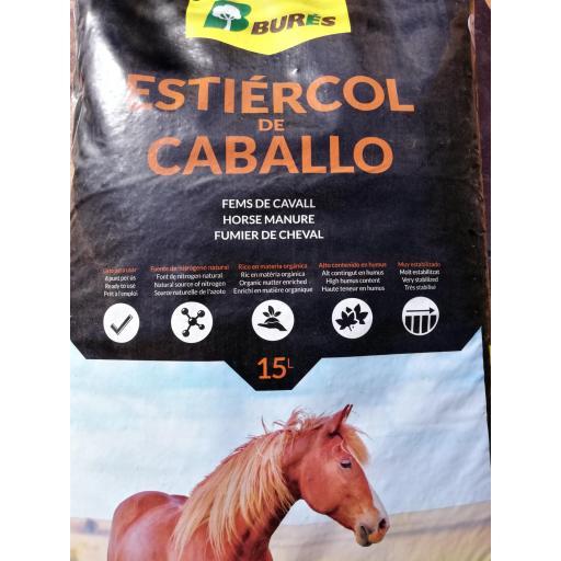 Estiércol de caballo 15L