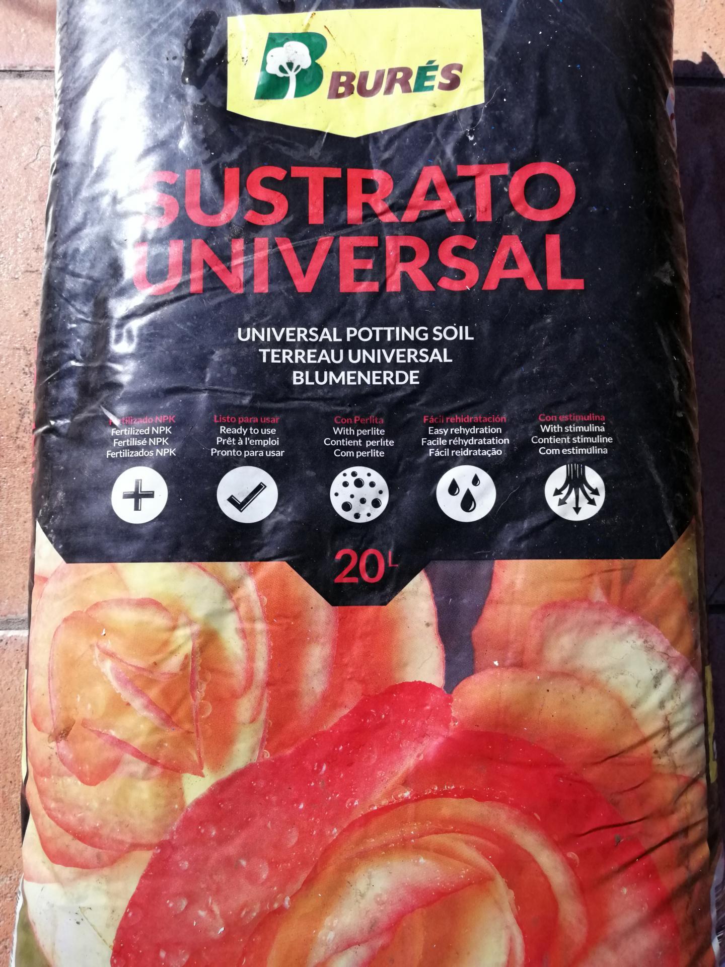 Sustrato Universal 20L