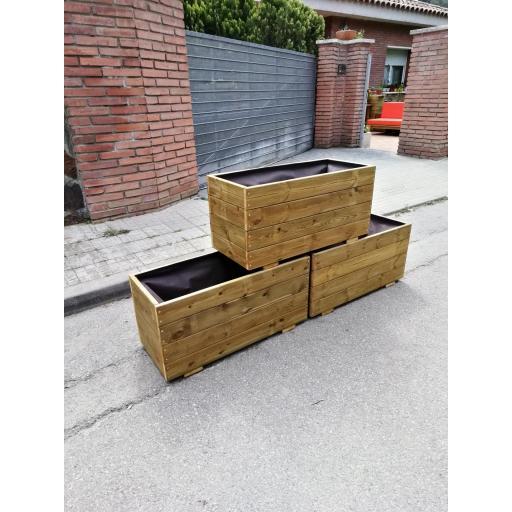 Pack 3 Jardineras 80x35x40 [2]