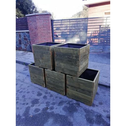 Pack 5 Jardineras 50x50x50 [3]
