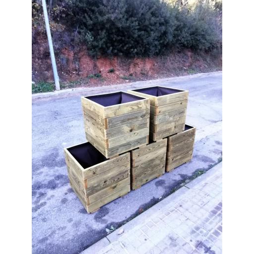 Pack 5 Jardineras 50x50x50 [1]