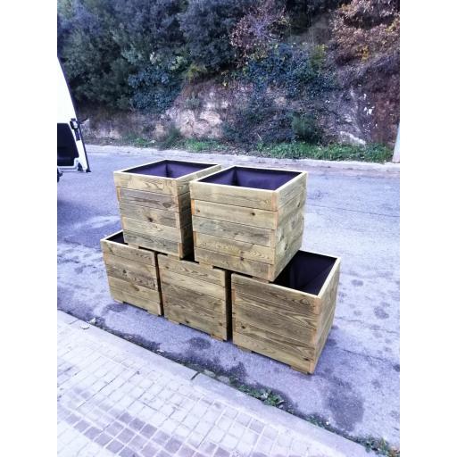 Pack 5 Jardineras 50x50x50 [2]
