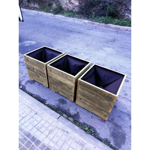 Pack 3 Jardineras 50x50x50 [2]