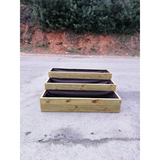 Jardinera Escalonada 100x75x40