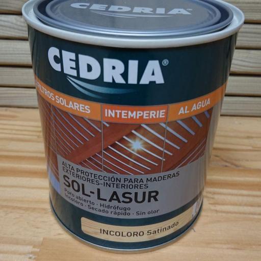 Cedria Dekor Lasur Incoloro Satinado
