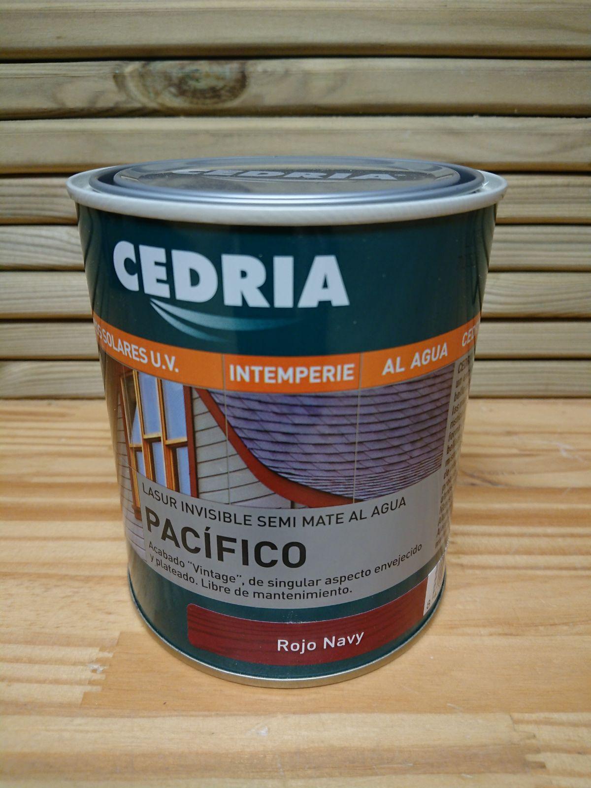 Cedria Lasur Pacifico Rojo Navy