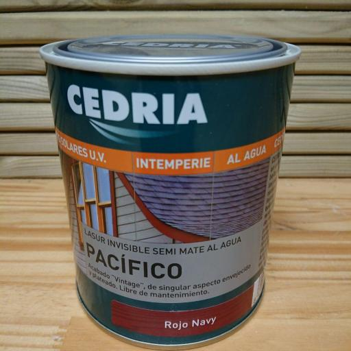 Cedria Lasur Pacifico Rojo Navy [0]