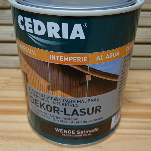 Cedria Dekor Lasur Wenge Satinado [0]