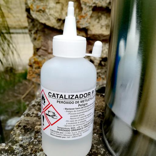 ▷ Resina de poliéster Bidón de 5Kg. + Catalizador  [1]