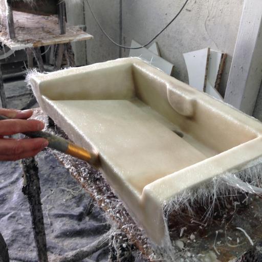 ☞ Mat de  Fibra de Vidrio 300gr m2 . Rollo de 147 m2  [3]