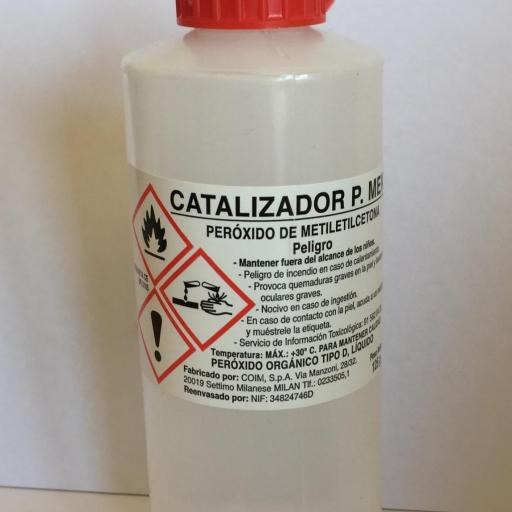 ▷ Catalizador de Peróxido de MEK 125grs