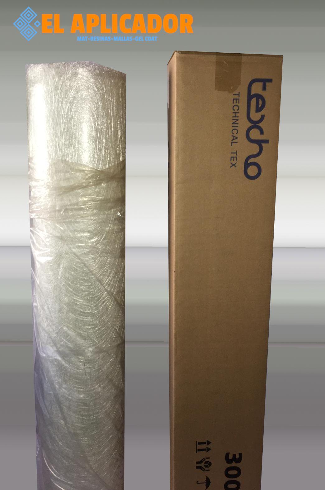 ☞ Mat de  Fibra de Vidrio 300gr m2 . Rollo de 147 m2