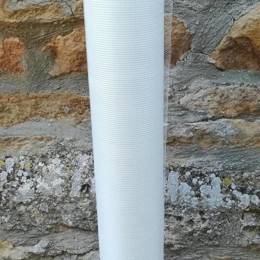 △ Malla de Fibra de Vidrio Impermeabilización V50. Rollo de 1 x 50m  [1]