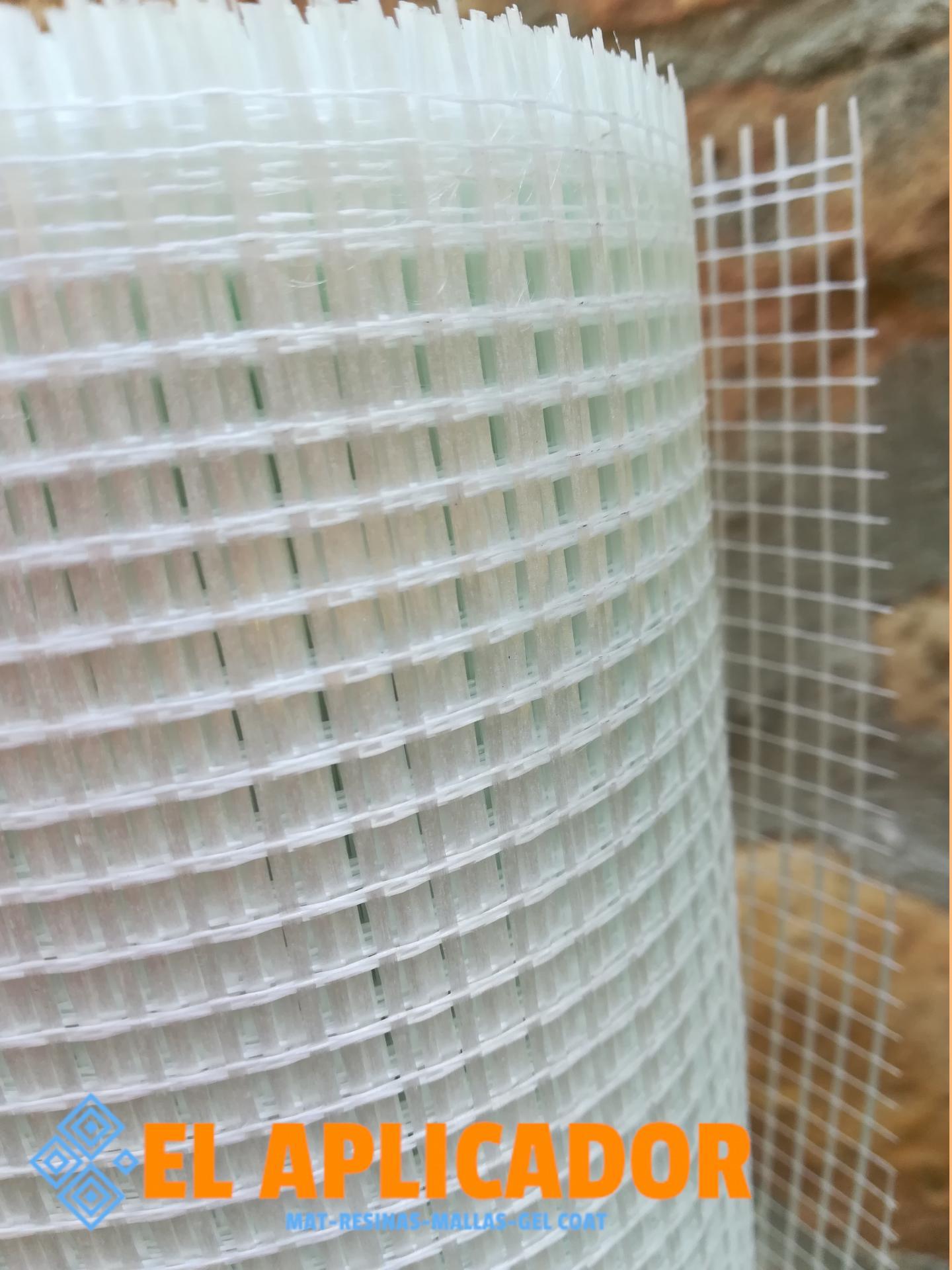 △ Malla de Fibra de Vidrio Impermeabilización V50. Rollo de 1 x 50m