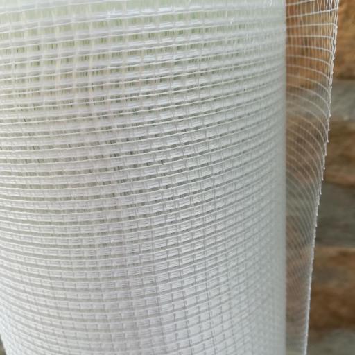 ▷ Malla de Fibra de Vidrio SATE 160gr. Rollo 1 x 50m