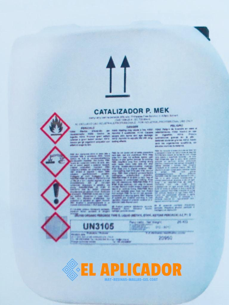 ▷ Catalizador de Peróxido de MEK 25 kg