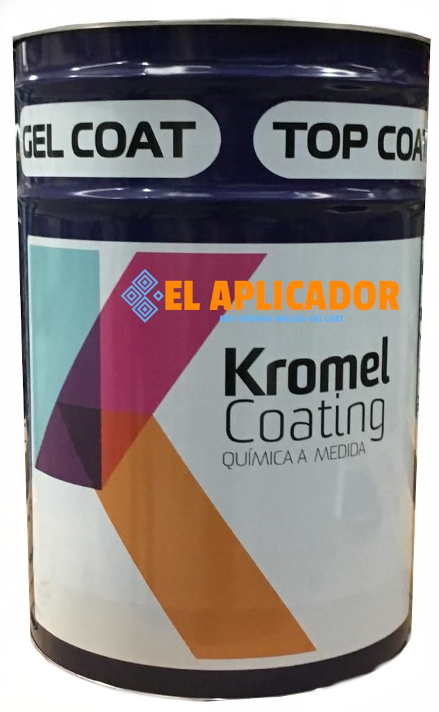 ▷ Gel Coat ISO/NPG Azul + Catalizador. 25kg