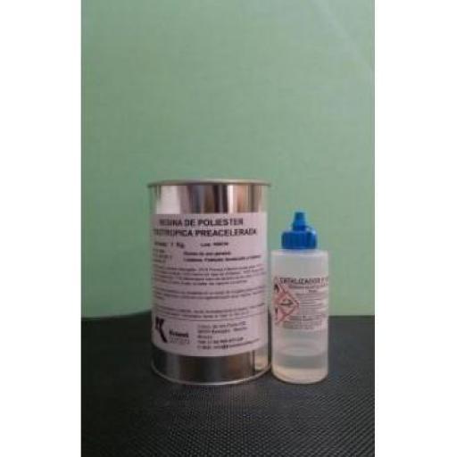 ▷ Resina de poliéster Bidón de 25Kg. + Catalizador  [1]