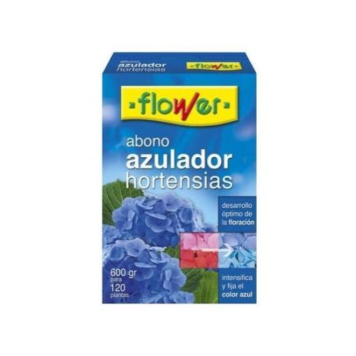 Abono AZULADOR DE HORTENSIAS. Flower 600gr.