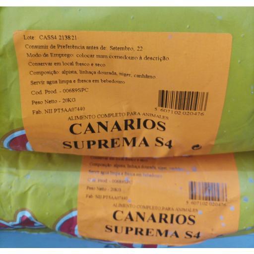 Pet -Cup Mixtura CANARIOS SUPREMA S4. Saco 20Kg. [2]