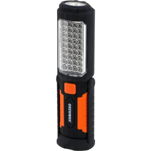 LINTERNA MAGNETICA + PILAS 36 LED OREWORK 5206