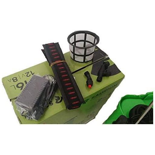 Pulverizador Eléctrico 16L. Con bateria 12v 8 Amp. SAURIUM® [2]
